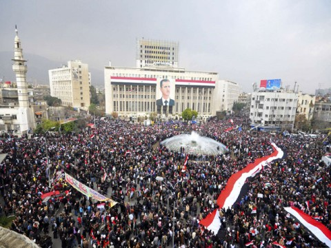 Syria-demonstrations