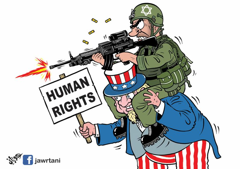 Image result for US HUMAN RIGHT CARTOON