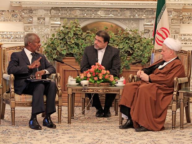 Rafsanjani-KofiAnnan